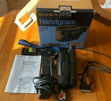 Sony Handycam Video 8 CCD-TR485E With Batteries, Charger, Box & All Accessories.