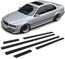6 BAGUETTES DE PORTES / AILES LOOK M5 POUR BMW SERIE 5 E39 BERLINE 1995-2003