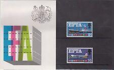 1967 EFTA Presentation Pack in original cellophane sleeve