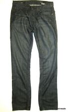WILLIAM RAST Jeans JAKE Mens 32 x 35 Black Faded Denim Wash Straight With Fit