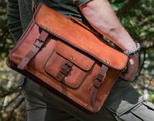Bag Leather Men Shoulder S Satchel Messenger Packs Briefcase Sling Handbag New
