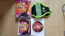 Zumba Fitness (Nintendo Wii, 2010) più cintura ufficiale tutte le COMPLETO