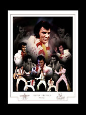 ELVIS: THE KING MONTAGE PRINT