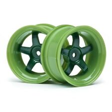 HPI 111091 Work Meister S1 Wheel Green 6mm Offset (2)