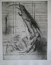 DADO GRAVURE ORIGINALE 1981 SIGNÉE AU CRAYON NUM/12 HANDSIGNED NUMB/12 ETCHING
