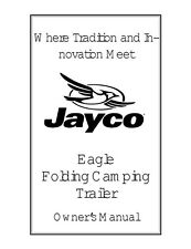 Jayco Fold-Down Pop-Up Tent Trailer Owners Manual- 2001 Eagle