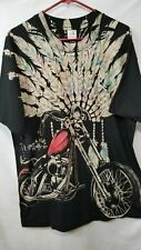 1993 Black Hills Rally Indian Head Wear All Over Print T-Shirt Motorcycle Bike