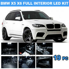 BMW X5 E70 2007 - 2013 ERROR FREE INTERIOR CAR LED LIGHTS BULB KIT - XENON WHITE