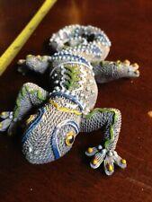 Artistically Crafted Chameleon Lizard Figure