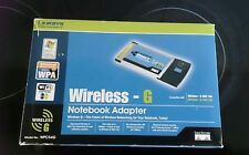 Linksys Wireless G notebook adapter 2.4GHZ-FREE POST WITHIN AUSTRALIA