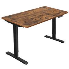 Elektrischer Schreibtisch, Schreibtischständer,Tischgestell mit Motor vintage