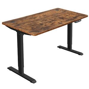Höhenverstellbarer Elektrischer Schreibtisch Tischgestell mit Motor Vintage