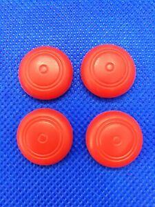 4 Thumbstick Controller Joystick Kappen Kappe caps grip für Nintendo Switch rot