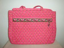 NEW Large Vera Bradley Tote/Bag-Pink-Travel-Beach-Office-16 X 12-(S)