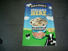 Ben+Jerry's Australian Advertising Poster 27inches down/17 inches across.