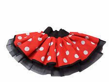 Cartoon Characters 80s Fancy Dress : Polycotton skirt cartoon characters fancy dress ebay