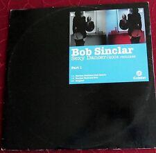 "Schallplatte Vinyl Maxi-Single Bob Sinclar ""Sexy Dancer / 2004 Remixes"" Part 1"