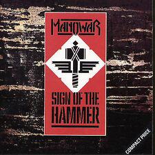 MANOWAR Sign Of The Hammer CD BRAND NEW