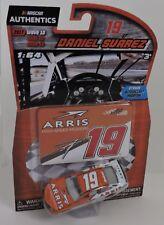 2017 DANIEL SUAREZ #19 ARRIS NASCAR AUTHENTICS 1:64 W/TEAM STICKER