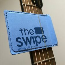 More details for the swipe, micro fibre guitar string cleaner kit, blue ts