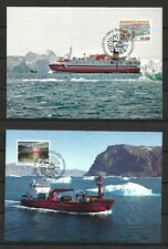 Greenland - Ships / Boats - 2014 Issue - Maxi Cards - VF !!!!!  (A3162)