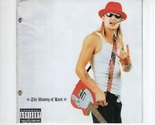 CD KID ROCK	the history of rock	EX (A1852)