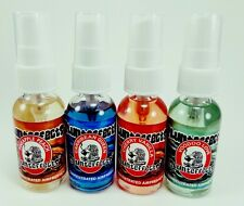 Blunteffects 100% Concentrated Air Freshener Car/Home Spray 4 Assorted Scents