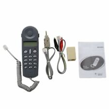 Telephone Phone Lineman Butt Test Tester Tool Cable Set CS