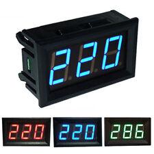 Ac 70 500v Digital Voltmeter Led Display Panel 2 Wire Volt Voltage Test Meter Us