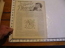 The Modern Priscilla : lynn Mass 1894 OCT : vol VIII # 8 BUBBLE & PUMPKIN PARTY