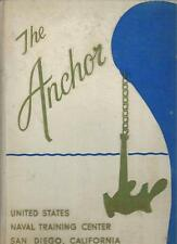 1963 UNITED STATES NAVAL TRANING CENTER YEARBOOK, THE ANCHOR, SAN DIEGO, CA