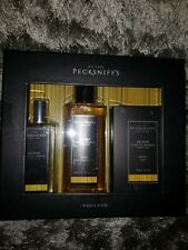 PECKSNIFF'S Mens Active Body Spray Shower Gel Large Soap Bar Gift Set New in Box
