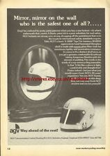 AGV Helmets X-3000 1976 Magazine Advert