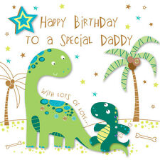 Special Daddy Happy Birthday Greeting Card By Talking Pictures Cards