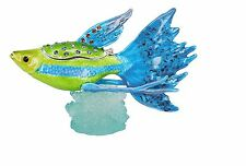 RUCINNI  Blue Peacock Fish Trinket Box