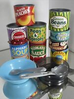 Melissa & Doug Let's Play House! Grocery Cans, Pretend Food, Pan, Bowl