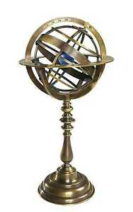 Bronze Armillary Dial - Museum Reproduction