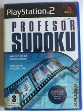 PROFESOR SUDOKU - PS2 - XPLOSIV - EN CASTELLANO - NEW & SEALED - NUEVO EMBALADO