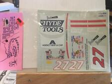 1/25 Scale Decal Set #27 Hyde Tools Ray Payne Chevrolet Lumina