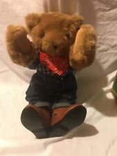 """Vermont Teddy Bear Company 16"""" Brand New! Cowboy Outfit (no hat)"""