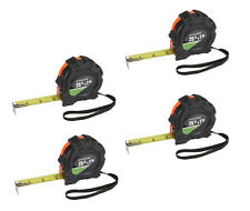 25 ft.x 1in.Tape Measure Pittsburgh QuikFind Standard, Inches/Feet Lot of  4