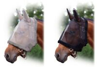 QHP Fliegenmaske mit Ohren Fliegenschutzmaske Fliegenschutz Fohlen Shetty KB neu