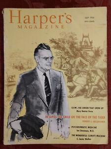 HARPERs Magazine July 1954 BASIL DAVIDSON ROBERT HEILBRONER