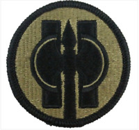GENUINE U.S. ARMY PATCH: 11TH MILITARY POLICE - EMBROIDERED ON OCP - PAIR