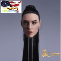 ❶IN STOCK❶ 1/6 Female Head Sculpt B Gal Gadot Wonder Woman Braided for Phicen