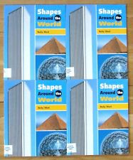 Lot 4 SHAPES AROUND THE WORLD Guided Reading Math Level M Rigby VGC L30