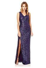 Sequin V Neck Regular Size Maxi Dresses for Women