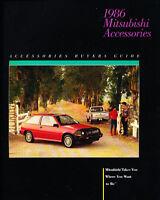 1986 Mitsubishi 12-page Original Accessories Brochure - Starion Galant Montero