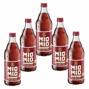 Mio Mio Guarana Pomegranate 5 Flaschen je 0,5l