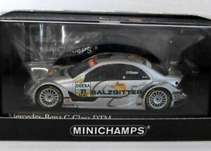 WOW EXTREMELY RARE Mercedes W203 Green Hockenheim II DTM 2005 1:43 Minichamps